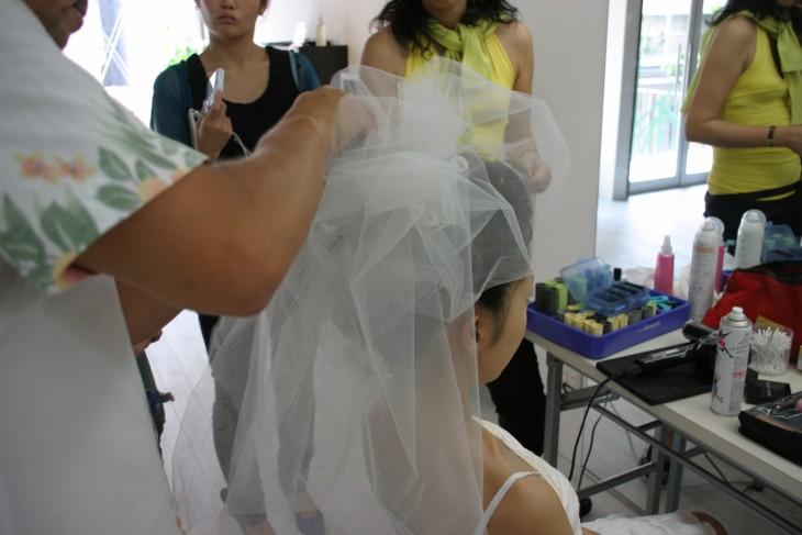 メイク メイクレッスン 福岡 婚礼 美容 ヘアメイク